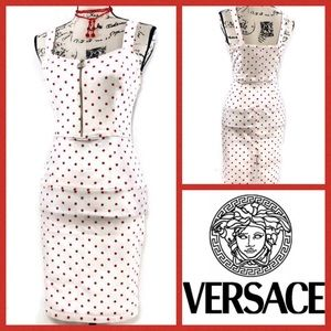 Vintage Gianni Versace Fitted Strapless Dress